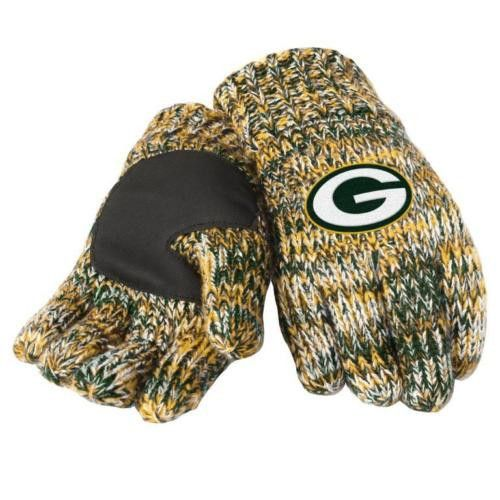 Green Bay Packers Peak Knitted Gloves