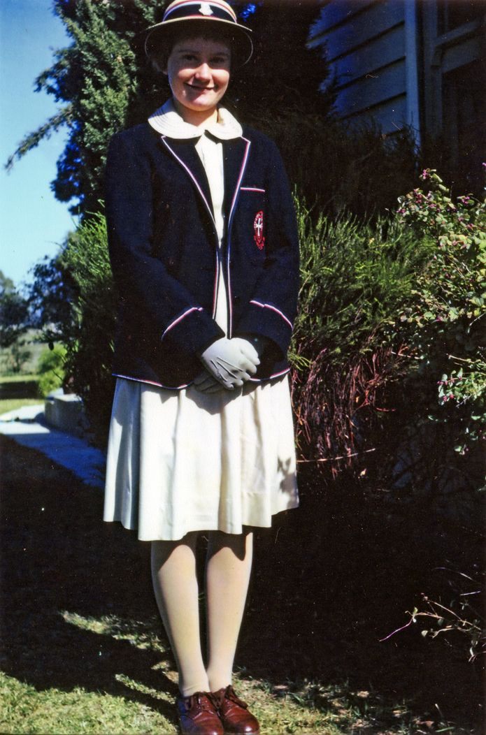 St Michael's, Melbourne The oldest colour photo in our archive: student Pam Christensen c1962