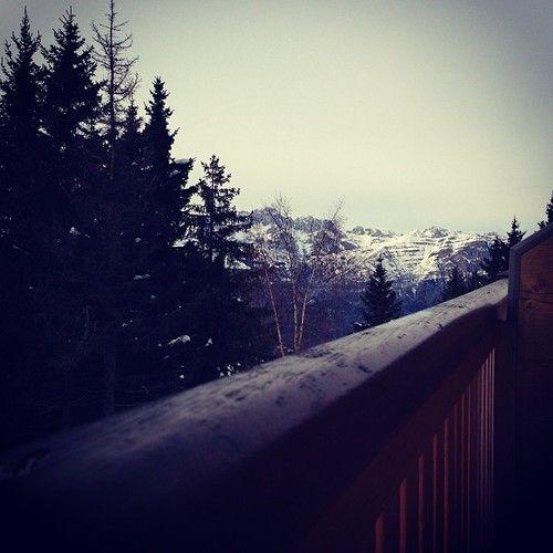 Monte Bondone (Trento, Italy)    #italy #trento #trentino #mountains #landscape #nature #sky #trees #snow #hotel #xmas #december #winter