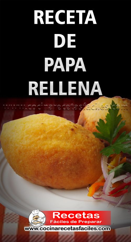 Receta de Papa rellena de lomo saltado Un plato típico peruano que estamos seguros te encantará, como su nombre lo dice está hecha a base de papa con un relleno de carne (forma clásica) hoy las podemos disfrutar en diferentes formas, Papa Rellena de Seco de Res, Papa Rellena de Ají de Gallina, Papa Rellena de Lomo Saltado, Papa Rellena de Queso con Choclo, etc. #receta #RecetasFáciles