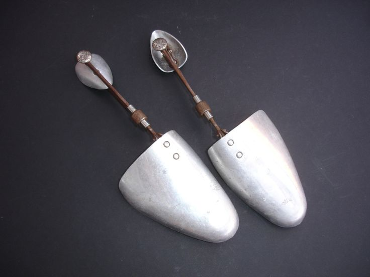 Pair of 1930s Vintage Shoe Trees Expandable Shoe Trees  7 x 8 M Shoe Stretchers Shoe Trees Adjustable Shoe Trees Made in England by FillyGumbo on Etsy