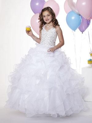 22 besten Pageant Dresses Bilder auf Pinterest   Blumenmädchen ...