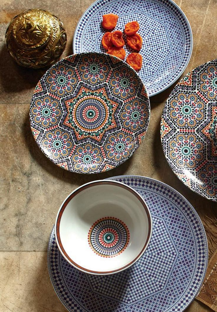 Moroccan Inspired Tableware | World Market Home & Kitchen - Kitchen & Dining - kitchen decor - http://amzn.to/2leulul