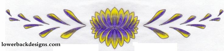 flower tattoo art, lotus flower design,tattoo designs,exotic flower tattoos