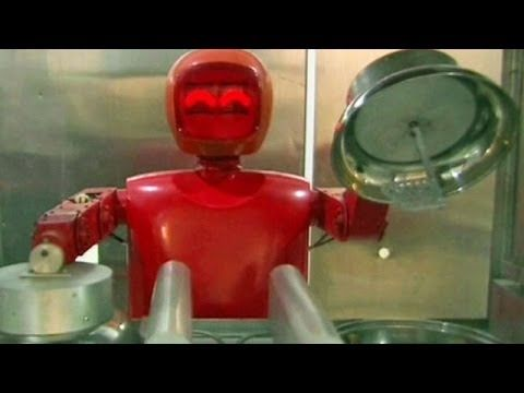 BBC Learning English: Video Words in the News: Robot chef (23rd April 2014) - YouTube