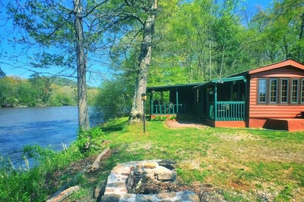 Asheville river cabins in asheville nc cabin rentals for Asheville area cabin rentals