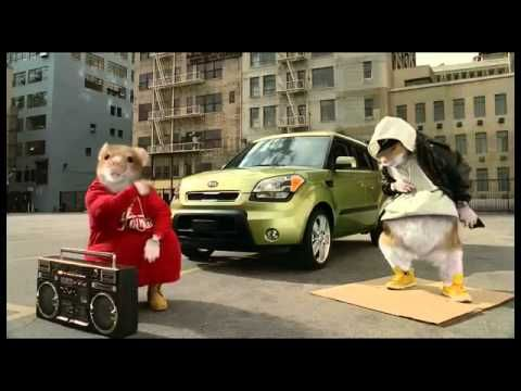 Another hilarious Kia Soul commercial! Hip-hop hamsters. DOO-DA-DIPPITY! {Music by Black Sheep}