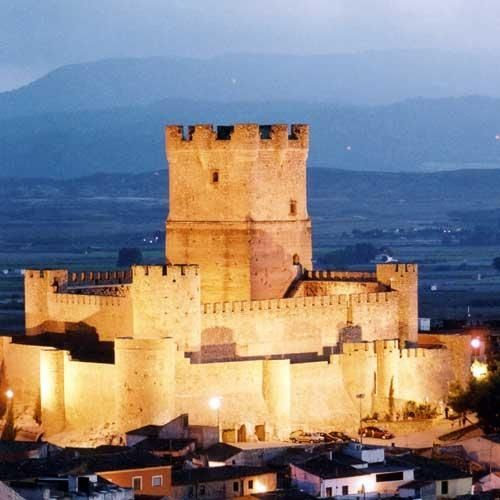 Castillo de Villena, Alicante, España