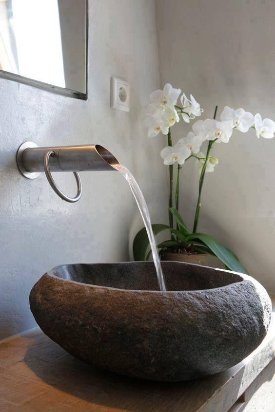 17 best ideas about waschbecken stein on pinterest   waschbecken, Hause ideen