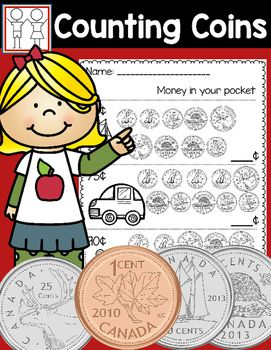 Canadian Money  These are great worksheets to help students understand Canadian Money. There are 8 worksheets.