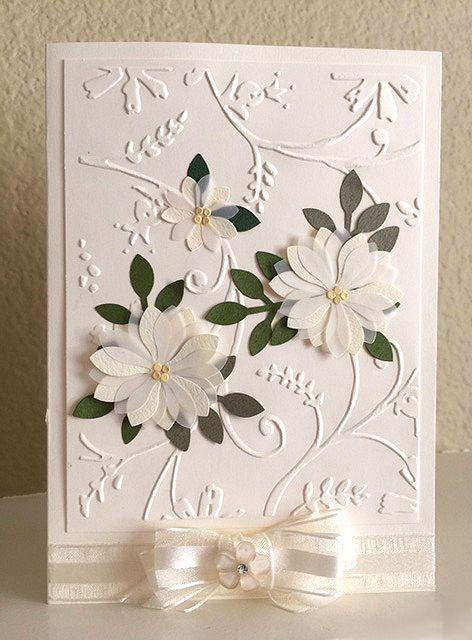 Pretty Wedding Card