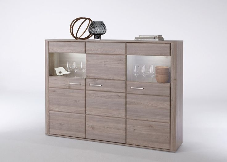 Highboard Ravenna Kommode Anrichte 1790 Cm Eiche Nelson 20668 Buy Now At