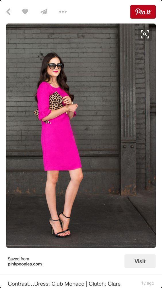 6feb54055514 Rosa Kleid kombinieren: Welche Schuhe passen zu rosa Kleid | Things ...
