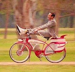 Happiness.    Pee Wee Herman!