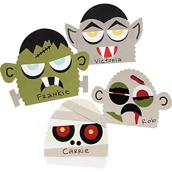 Paper Source: Monsters Place Cards