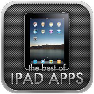 list in catergories of best ipad apps