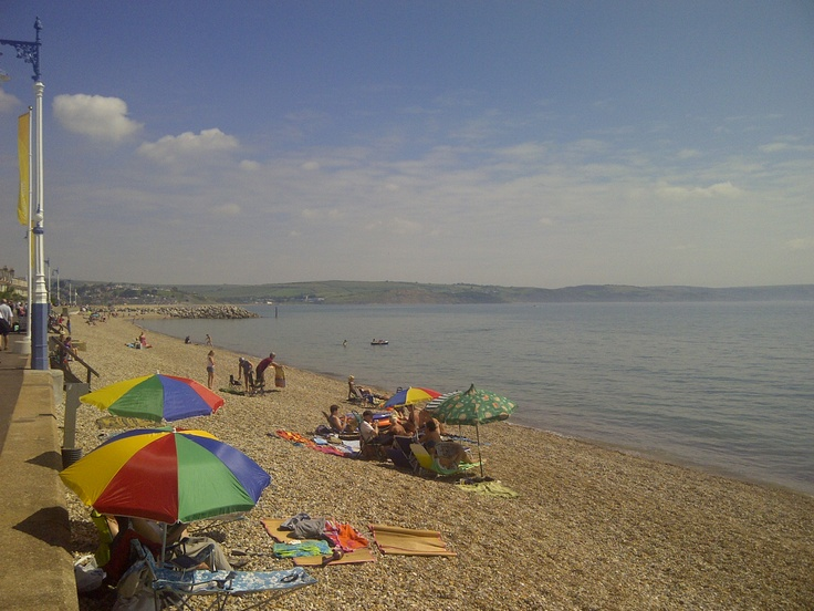 A gorgeous day in Weymouth.