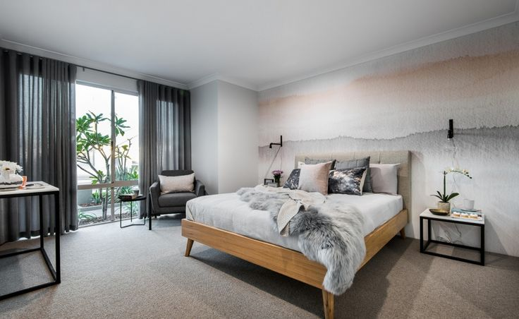 Tucked away at the front of the home, the Master Bedroom is luxurious and offers a huge walk-in-robe and ensuite