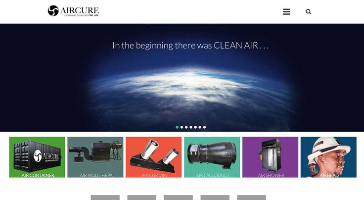 AIRCURE 2015 Website Refresh | One Part Scissors