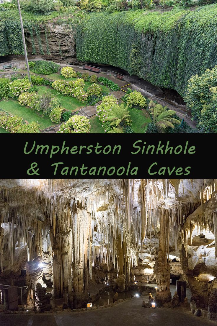 Umpherston Sinkhole and Tantanoola Caves. Two amazing places to see in South Australia.