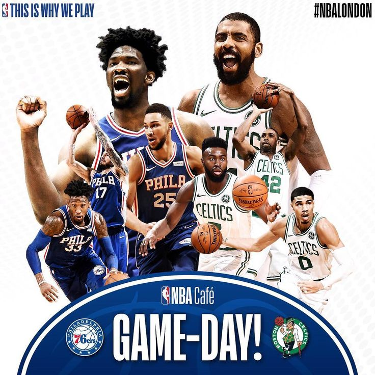 Its Game Day  Ven a vivir el partidazo del London Game  21h  @sixers vs @celtics  #NBACafeBCN #NBA #NBALondon #LondonGame #Sixers #Celtics #Basketball #Baloncesto #Basquet #GameDay #NBACafe #ThisIsWhyWePlay
