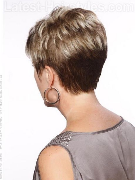 Short hair styles for the older woman