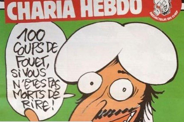 Many Outlets Are Censoring Charlie Hebdo's Satirical Cartoons After Attack