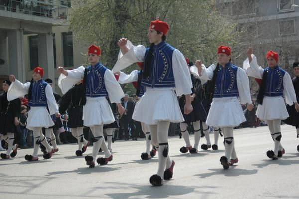 Traditional Greek Clothing for the men!