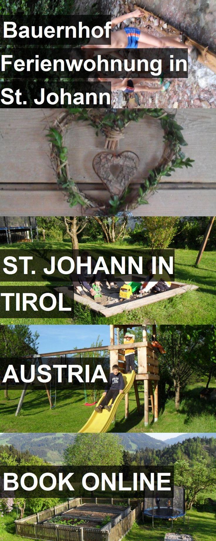 Hotel Bauernhof Ferienwohnung in St. Johann Oberbürghof in St. Johann in Tirol, Austria. For more information, photos, reviews and best prices please follow the link. #Austria #St.JohanninTirol #travel #vacation #hotel