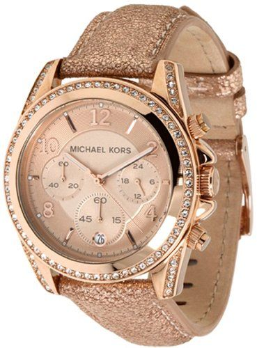 Michael Kors Blair Ladies Chronograph Rose Gold Women's Watch Michael Kors,http://www.amazon.com/dp/B004ZL5FXC/ref=cm_sw_r_pi_dp_OR1Jsb1H0S4M1BSY