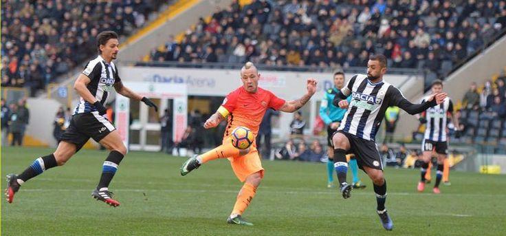 Radja Nainggolan Berhasil Membawa Roma Menang Atas Udinese #Vivagoal #BeritaBola #InfoBola #LigaItalia #AsRoma #Udinese