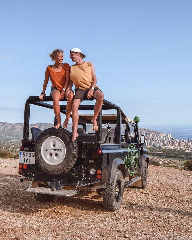 Benidorm Spain Travel Europe Couple Goals I Love You Always Romantic Relationship Wanderers & Warriors Charlie & Lauren UK Travel Couple Levante Beach…