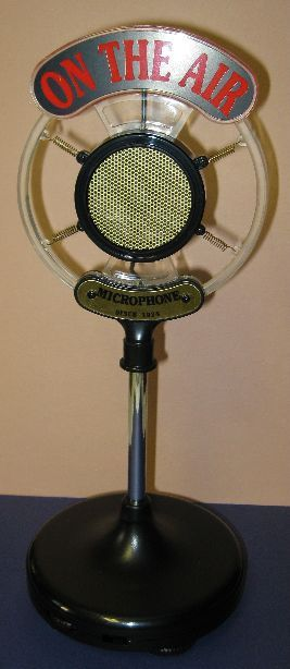 how to make vintage microphone prop - Google Search