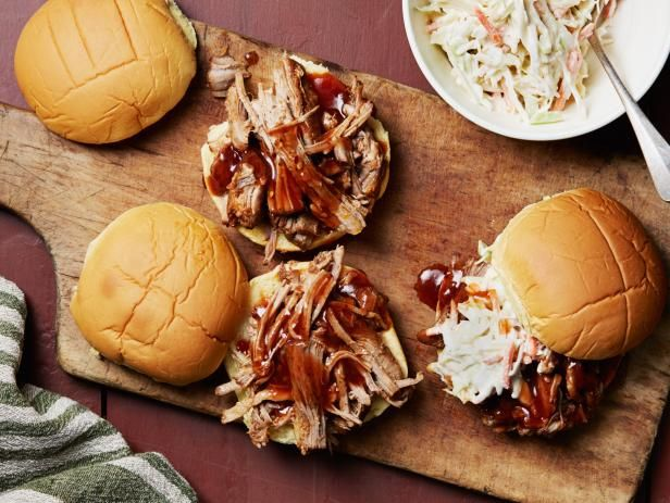 Get Instant Pot® Barbecue Pulled Pork Sandwiches Recipe from Food Network