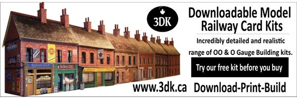 Just launched my brand new downloadable model railway card kit web side at www.3dk.ca.
