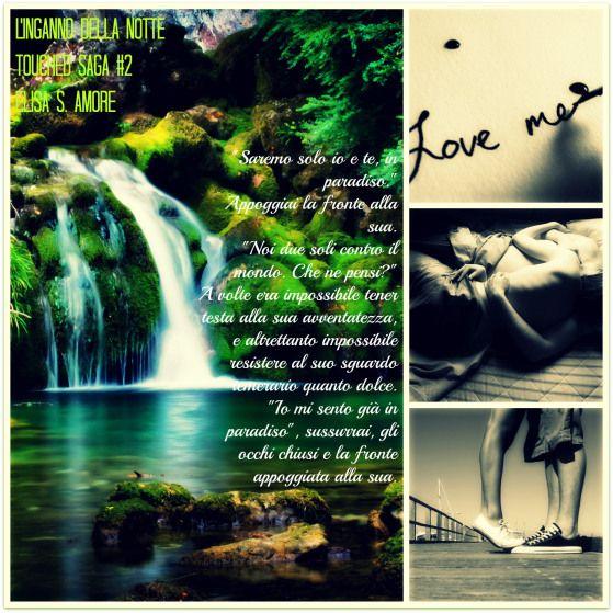L'inganno della notte di Elisa s. Amore (collage)