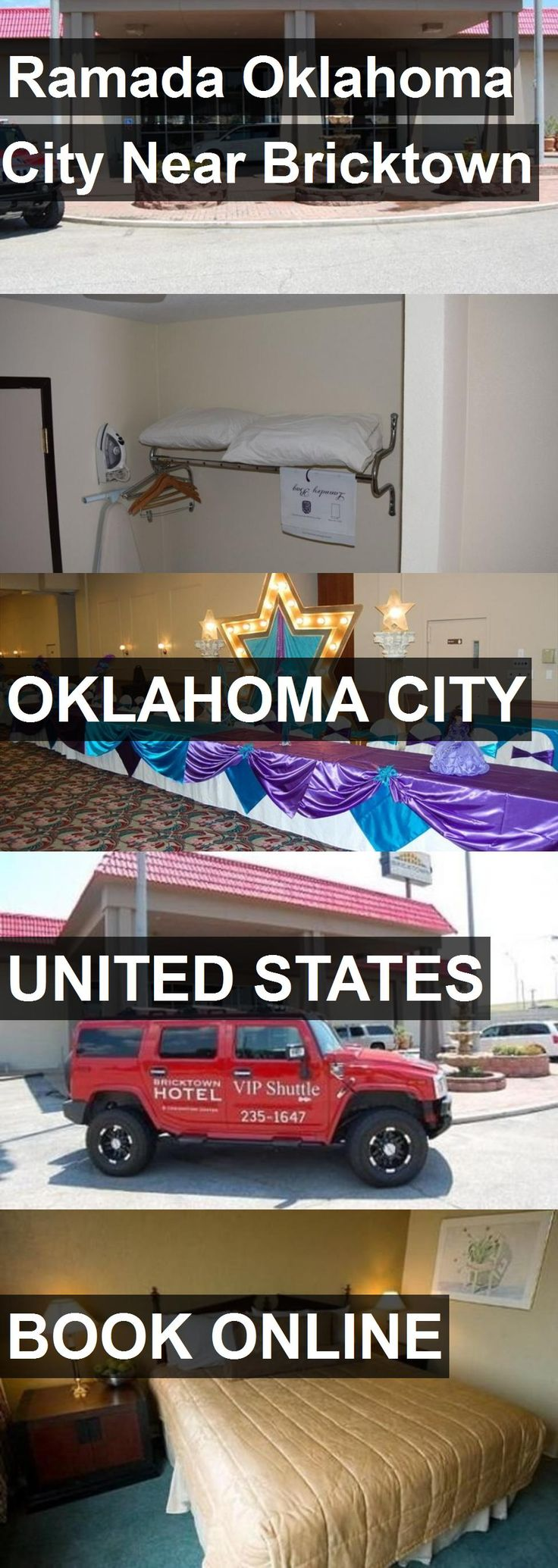 Hotel Ramada Oklahoma City Near Bricktown in Oklahoma City, United States. For more information, photos, reviews and best prices please follow the link. #UnitedStates #OklahomaCity #travel #vacation #hotel