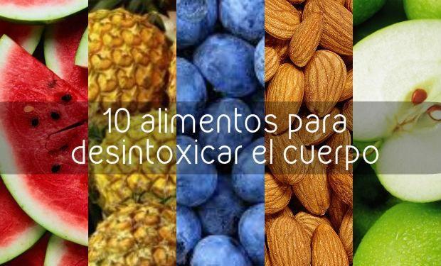 10 alimentos que te ayudarán a desintoxicar tu cuerpo
