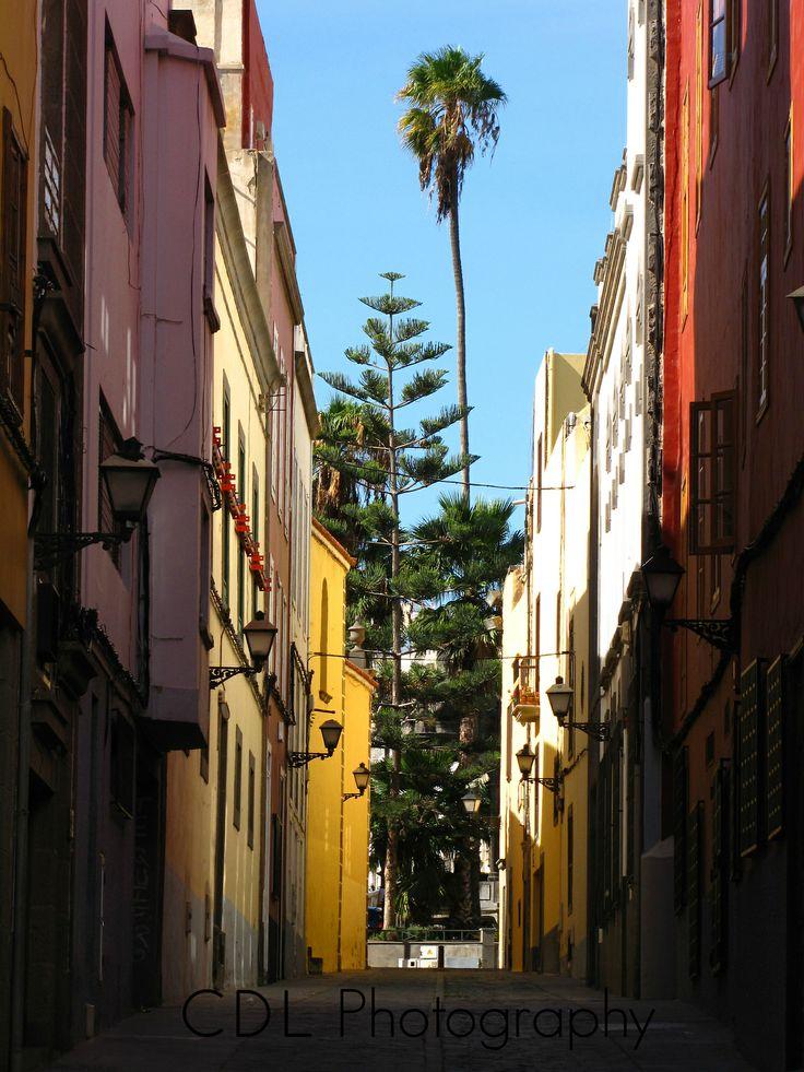 Malaga, Spain...Building a Rainbow!