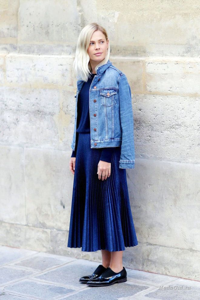 Уличная мода: Плиссировка: 45 модных образов на лето 2016