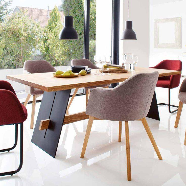 Die besten 25+ Esstisch aus Massivholz Ideen auf Pinterest - moderne massivholz esszimmermobel
