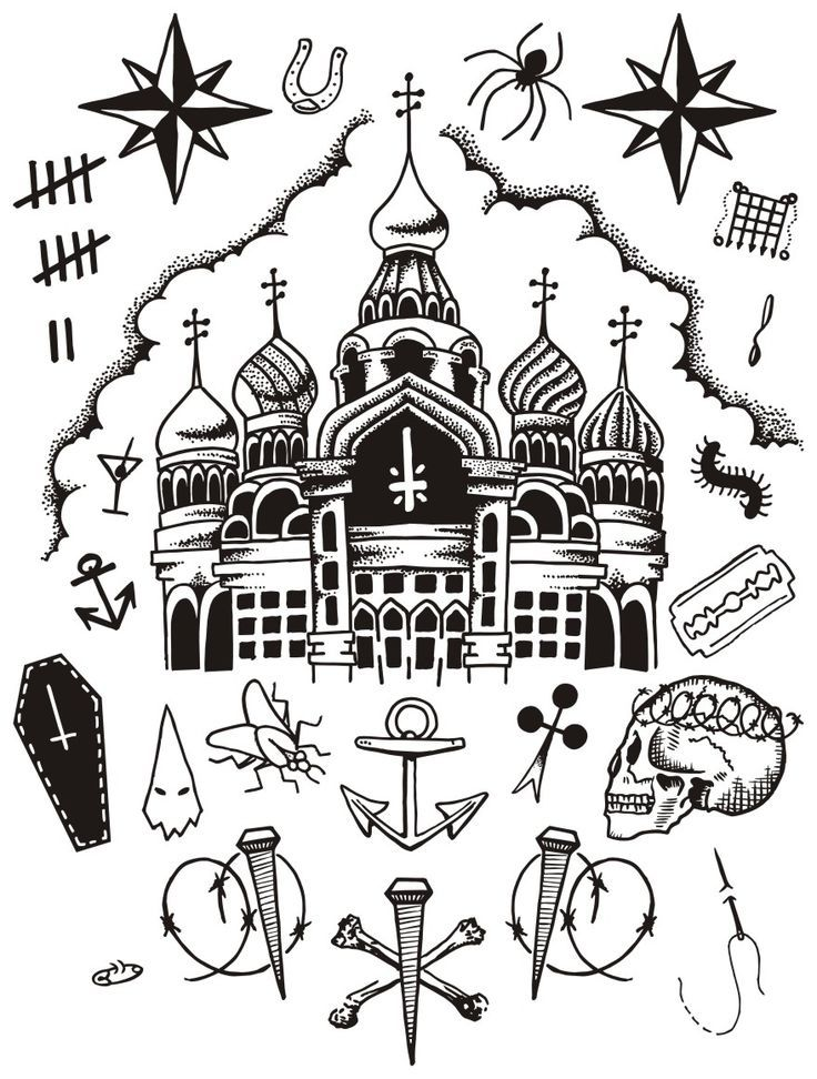 Картинки тюремные тату