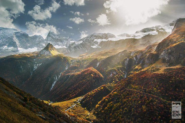 Champagny en Vanoise (French Alps).