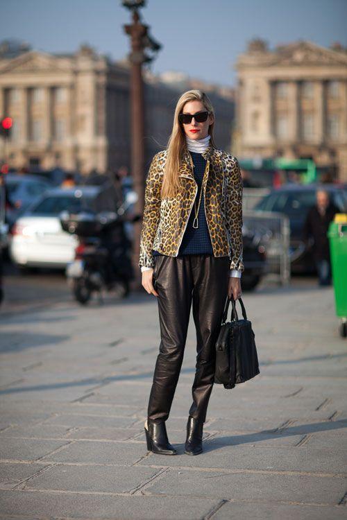 Street Style Fall 2013: Paris Fashion Week - Joanna Hillman