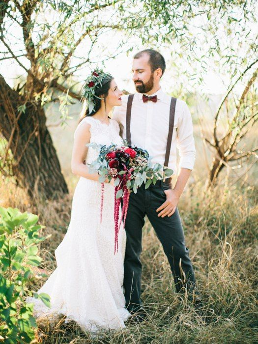 wedding ceremony  wedding decor bridal bouquet marsala rustic  wood