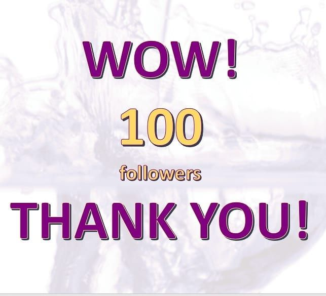 Thank you so much to all of you for your support it means a lot to us!!  . We are so #happy about and wish you all already a beautiful #friday !!!  . . #aicrovsmartfilling #smartfilling #thank #you #all #100 #followers #machinery #manufacturing #industry #business #company #growth #love #welding #metal #steel #automation #technology #future #robots #filling #machines #amazing #instajob #fabrication #design #project