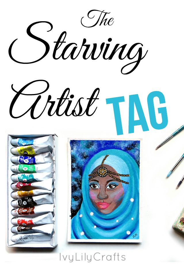 The Starving Artist tag is a way to get to know other artists by answering 20 questions about your art journey, inspirations and art creation.