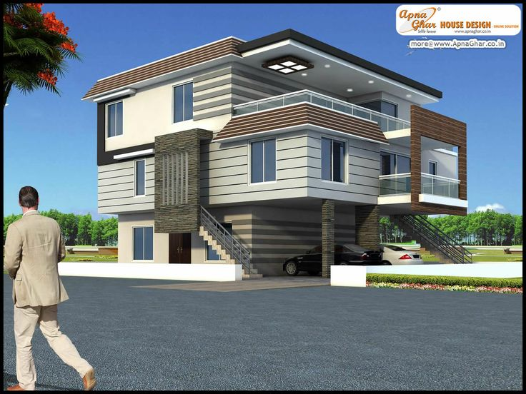68 best images about triplex house design on pinterest for Triplex house plans