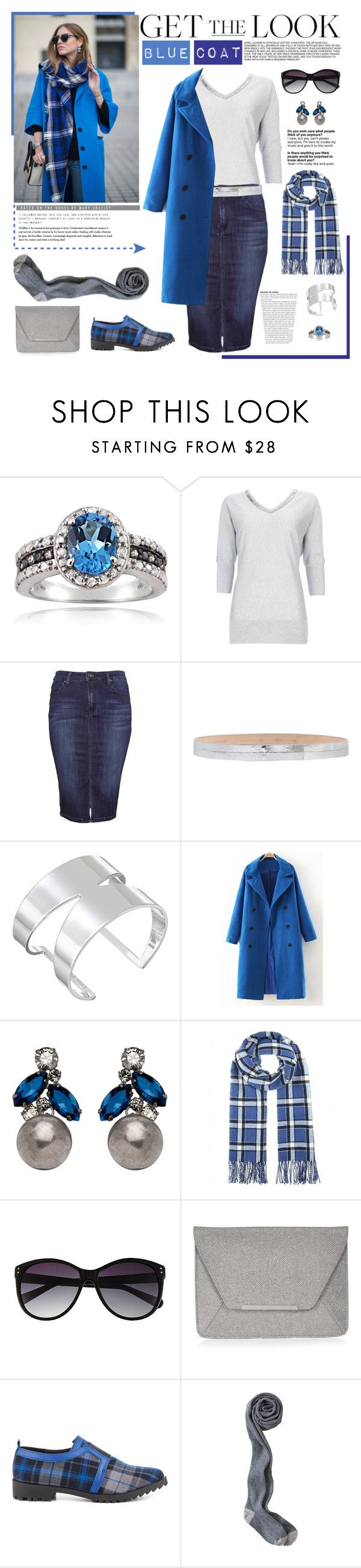 """Get the Look: Cool Coats #1"" by taggica ❤ liked on Polyvore featuring moda, Glitzy Rocks, Wallis, Mauro Grifoni, Vince Camuto, Janis Savitt, Marc by Marc Jacobs, Accessorize e GX"