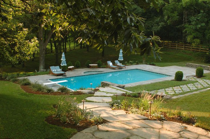 17 best images about landscape design portfolio on for Pool design virginia